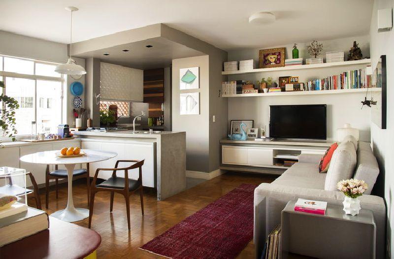 adelaparvu.com despre apartament de 58 mp, design interior Mayra Navarro, Foto Caca Bratke (11)