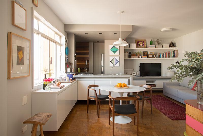 adelaparvu.com despre apartament de 58 mp, design interior Mayra Navarro, Foto Caca Bratke (2)