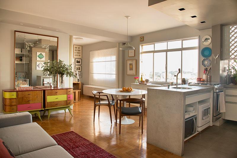 adelaparvu.com despre apartament de 58 mp, design interior Mayra Navarro, Foto Caca Bratke (3)