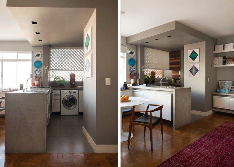 adelaparvu.com despre apartament de 58 mp, design interior Mayra Navarro, Foto Caca Bratke (9)