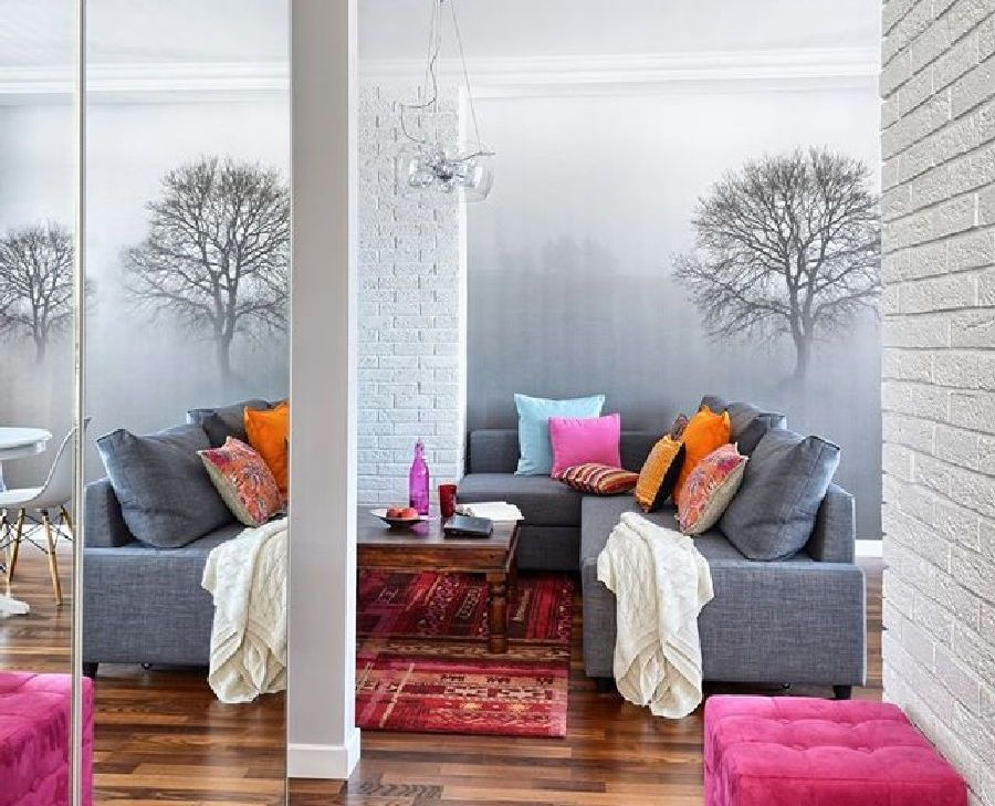 adelaparvu.com despre apartament de trei camere, 55 mp, design interior Aparicium Studio (10)