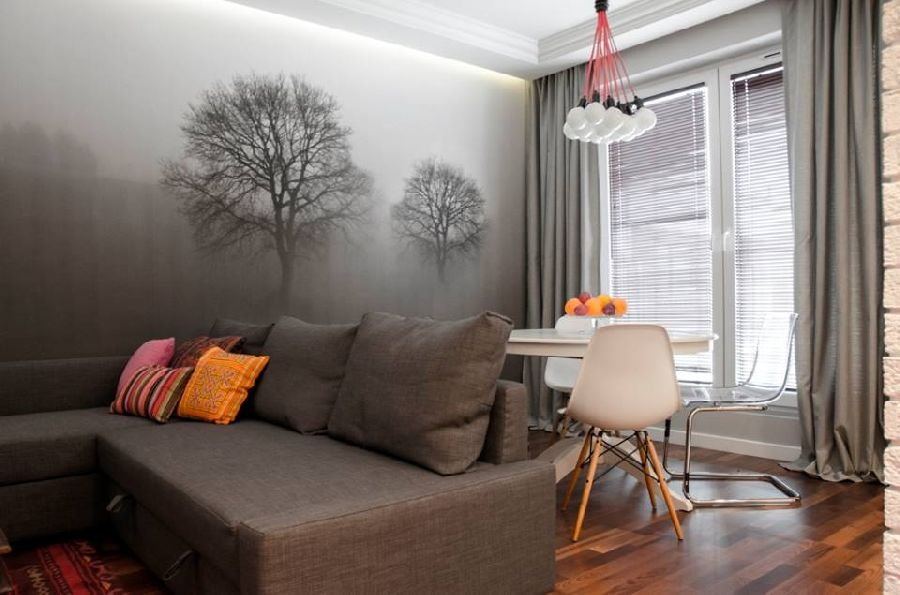 adelaparvu.com despre apartament de trei camere, 55 mp, design interior Aparicium Studio (2)