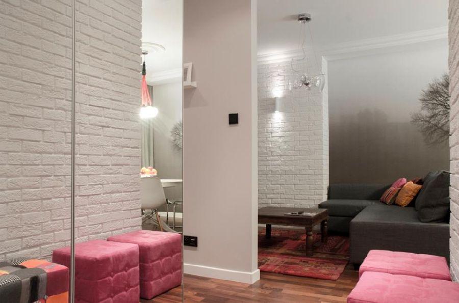 adelaparvu.com despre apartament de trei camere, 55 mp, design interior Aparicium Studio (4)