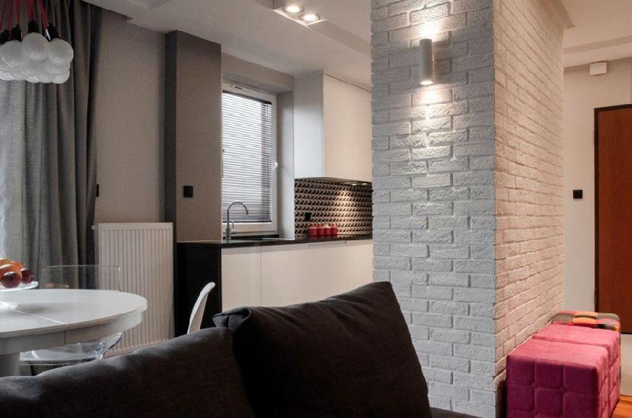 adelaparvu.com despre apartament de trei camere, 55 mp, design interior Aparicium Studio (7)