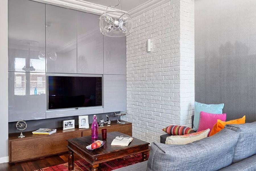 adelaparvu.com despre apartament de trei camere, 55 mp, design interior Aparicium Studio (8)