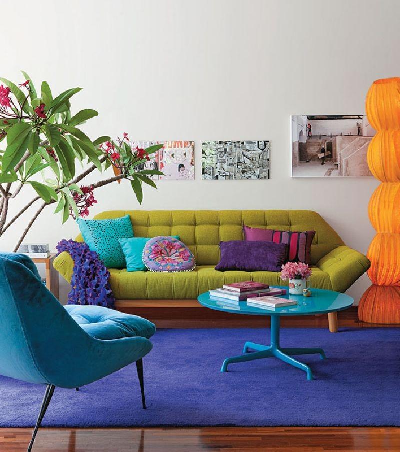 adelaparvu.com despre apartament mic si colorat, design interior Adriana Yazbek, Foto Casa Claudia (1)