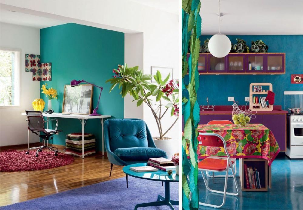 adelaparvu.com despre apartament mic si colorat, design interior Adriana Yazbek, Foto Casa Claudia (19)