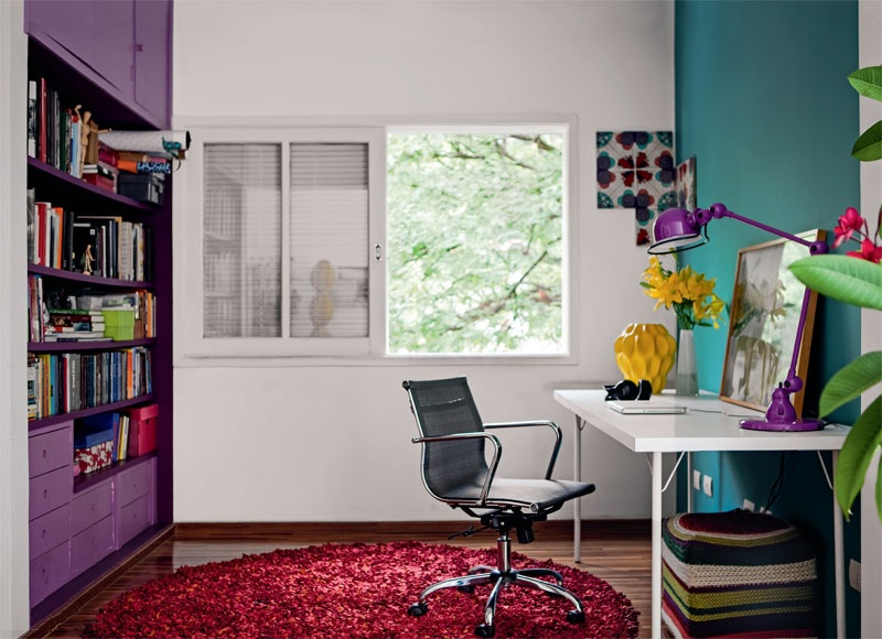 adelaparvu.com despre apartament mic si colorat, design interior Adriana Yazbek, Foto Casa Claudia (3)