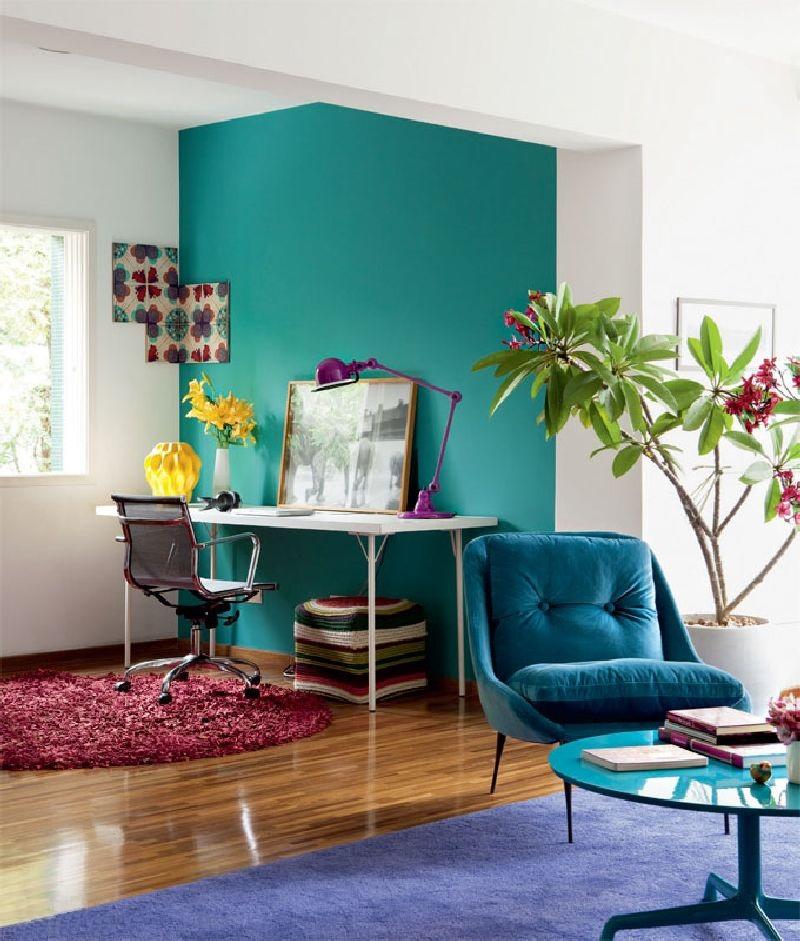 adelaparvu.com despre apartament mic si colorat, design interior Adriana Yazbek, Foto Casa Claudia (4)