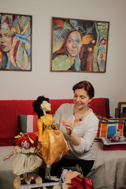 adelaparvu.com despre artist papusar, Elena Obrocea, din reclama Desteptaretele Bonux (14)