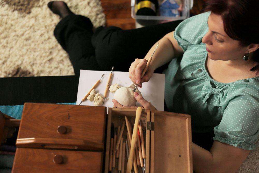 adelaparvu.com despre artist papusi Elena Orbocea, reclama Bonux (11)