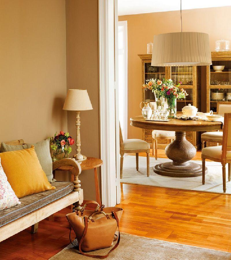 adelaparvu.com despre casa Spania cu pereti maro, design interior Laura Masiques, Foto ElMueble (1)
