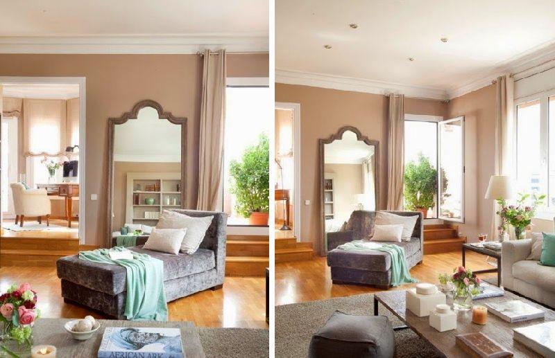 adelaparvu.com despre casa Spania cu pereti maro, design interior Laura Masiques, Foto ElMueble (14)