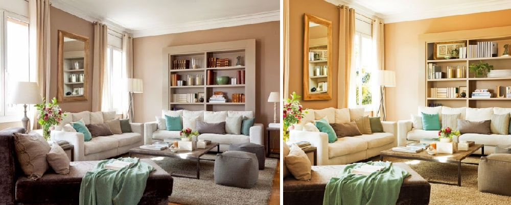 adelaparvu.com despre casa Spania cu pereti maro, design interior Laura Masiques, Foto ElMueble (18)