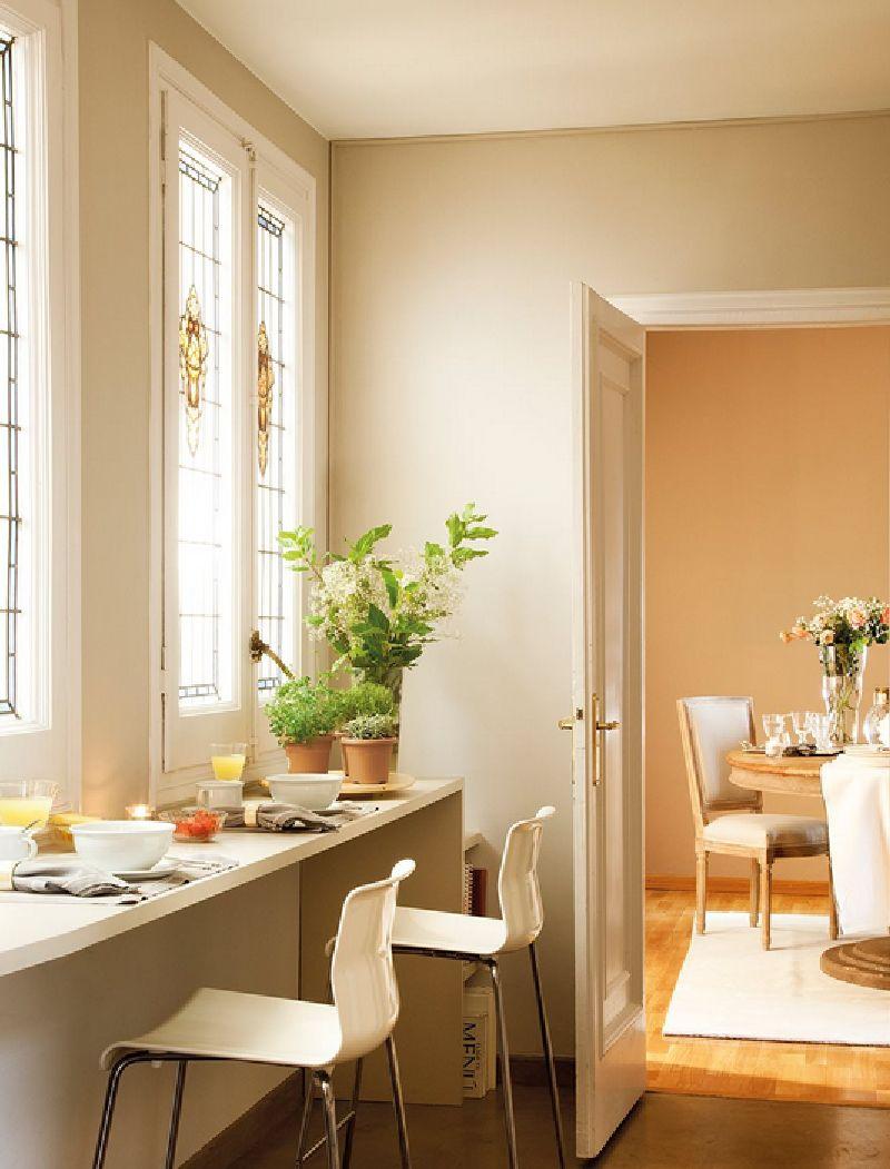 adelaparvu.com despre casa Spania cu pereti maro, design interior Laura Masiques, Foto ElMueble (8)