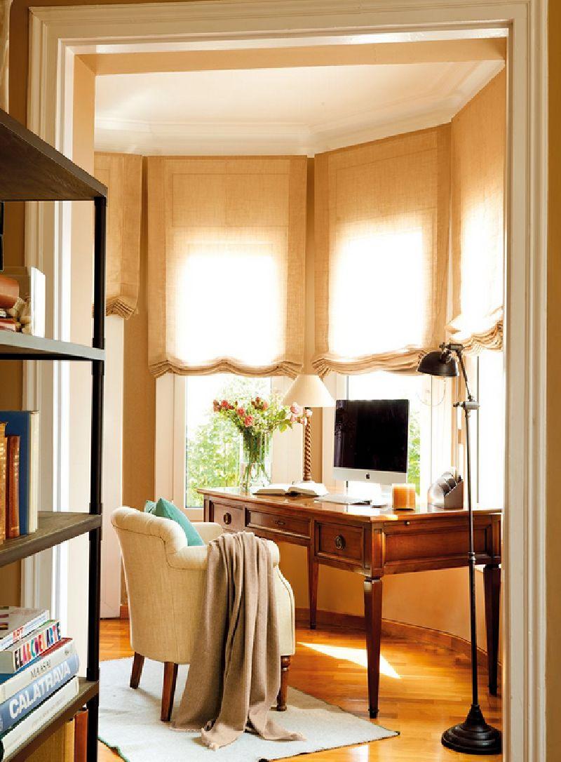 adelaparvu.com despre casa Spania cu pereti maro, design interior Laura Masiques, Foto ElMueble (9)