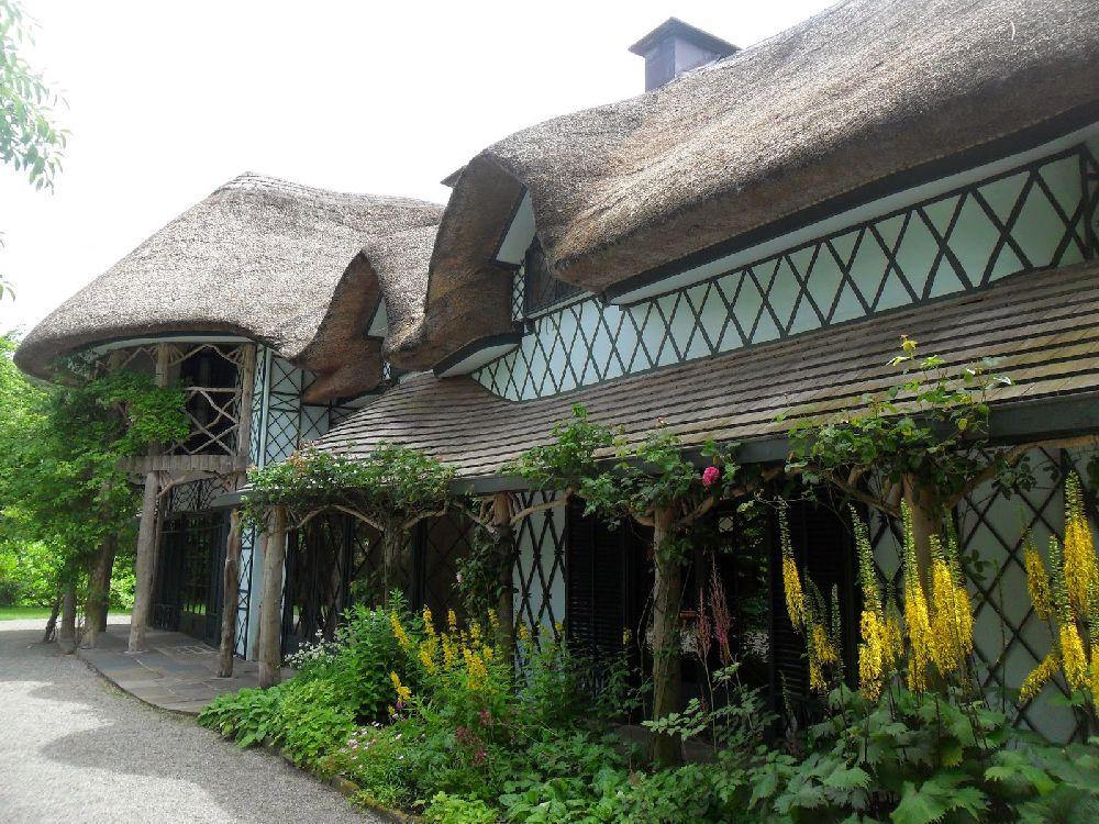 adelaparvu.com despre casa cu acoperis din stuf, Swiss Cottage in Cahir, Tippera, Irlanda (14)