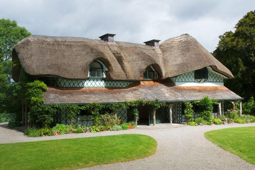 adelaparvu.com despre casa cu acoperis din stuf, Swiss Cottage in Cahir, Tippera, Irlanda (18)