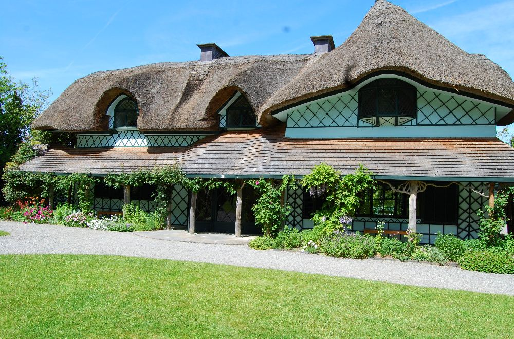 adelaparvu.com despre casa cu acoperis din stuf, Swiss Cottage in Cahir, Tippera, Irlanda (8)