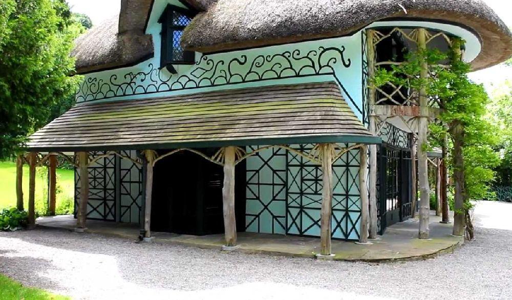 adelaparvu.com despre casa cu acoperis din stuf, Swiss Cottage in Cahir, Tippera, Irlanda (9)
