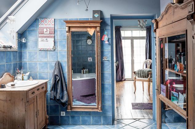 adelaparvu.com despre casa cu living albastru, Foto Rafal Lipski, Weranda (12)