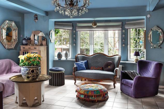 adelaparvu.com despre casa cu living albastru, Foto Rafal Lipski, Weranda (2)