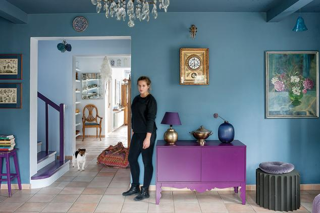 adelaparvu.com despre casa cu living albastru, Foto Rafal Lipski, Weranda (5)