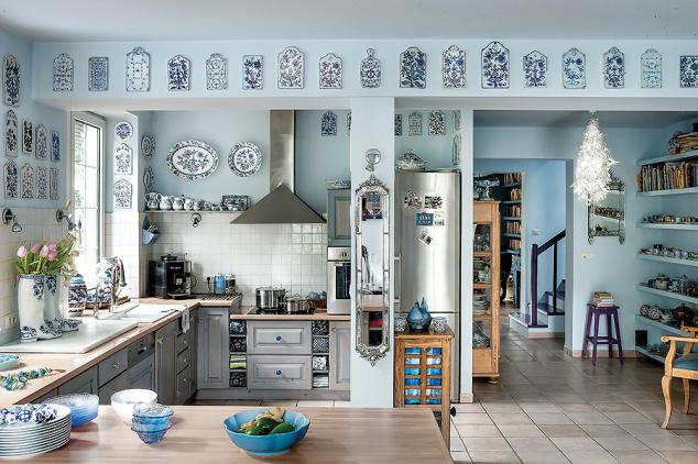 adelaparvu.com despre casa cu living albastru, Foto Rafal Lipski, Weranda (7)