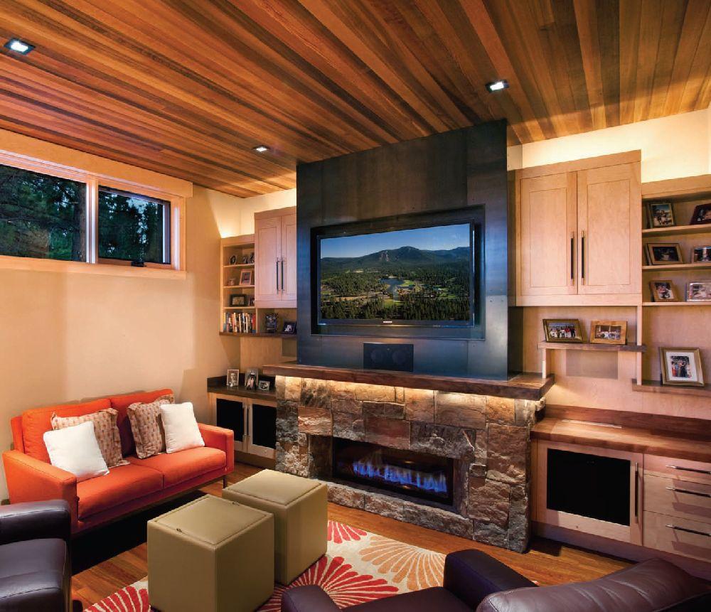 adelaparvu.com despre casa in stil modern montan, designer Annie MacFadyen, arhitectura Ryan Grup Architects, Foto Ethan Rohloff (2)