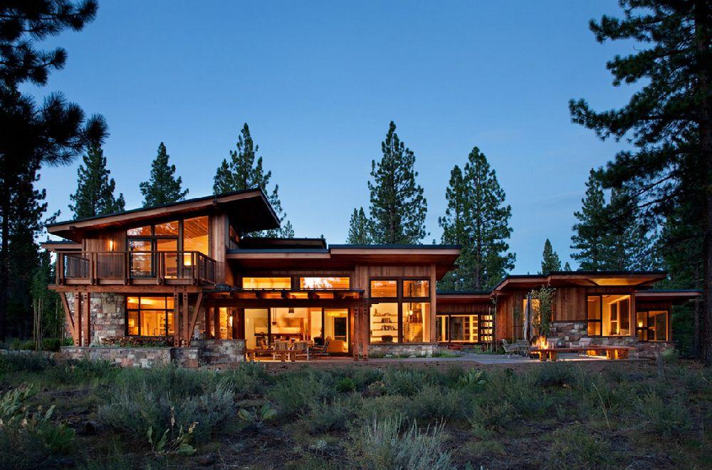 adelaparvu.com despre casa in stil modern montan, designer Annie MacFadyen, arhitectura Ryan Grup Architects, Foto Ethan Rohloff (4)