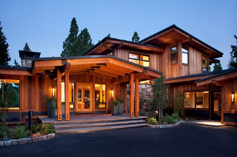 adelaparvu.com despre casa in stil modern montan, designer Annie MacFadyen, arhitectura Ryan Grup Architects, Foto Ethan Rohloff (5)