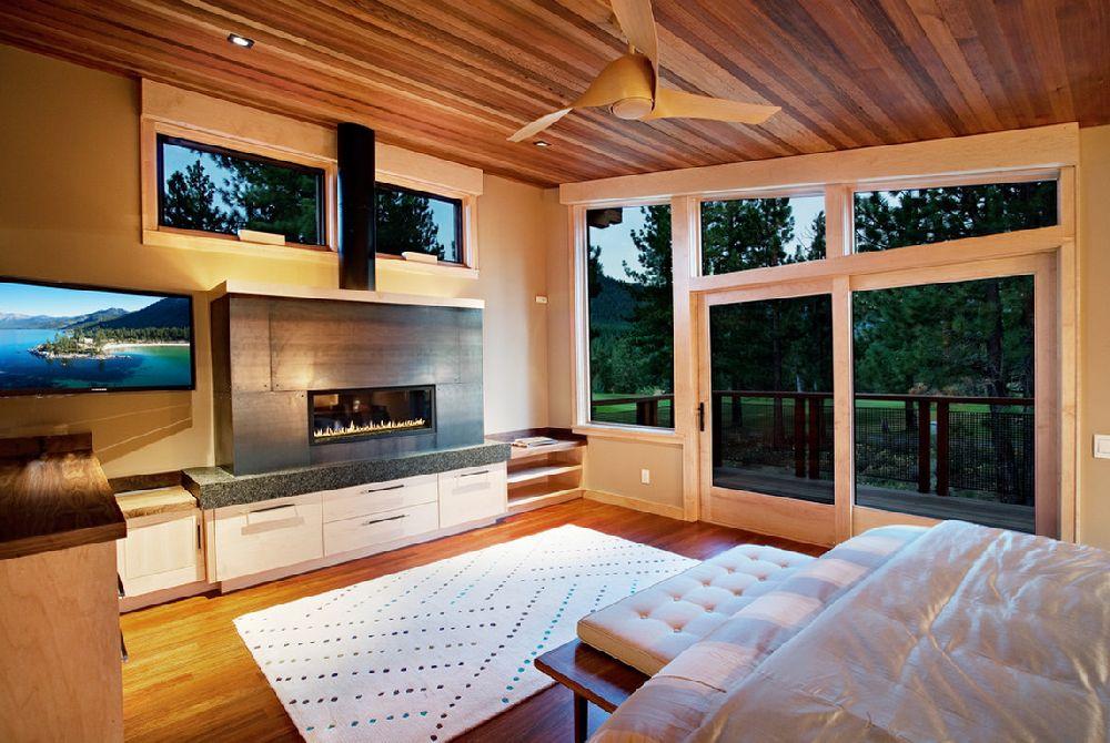adelaparvu.com despre casa in stil modern montan, designer Annie MacFadyen, arhitectura Ryan Grup Architects, Foto Ethan Rohloff (6)