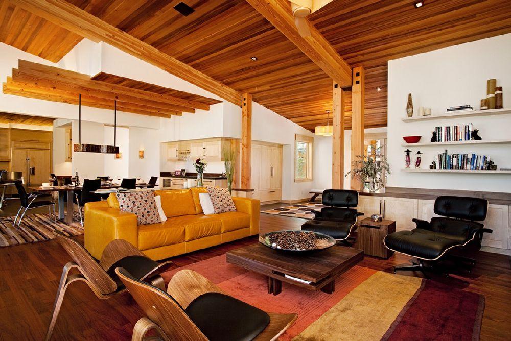 adelaparvu.com despre casa in stil modern montan, designer Annie MacFadyen, arhitectura Ryan Grup Architects, Foto Ethan Rohloff (8)