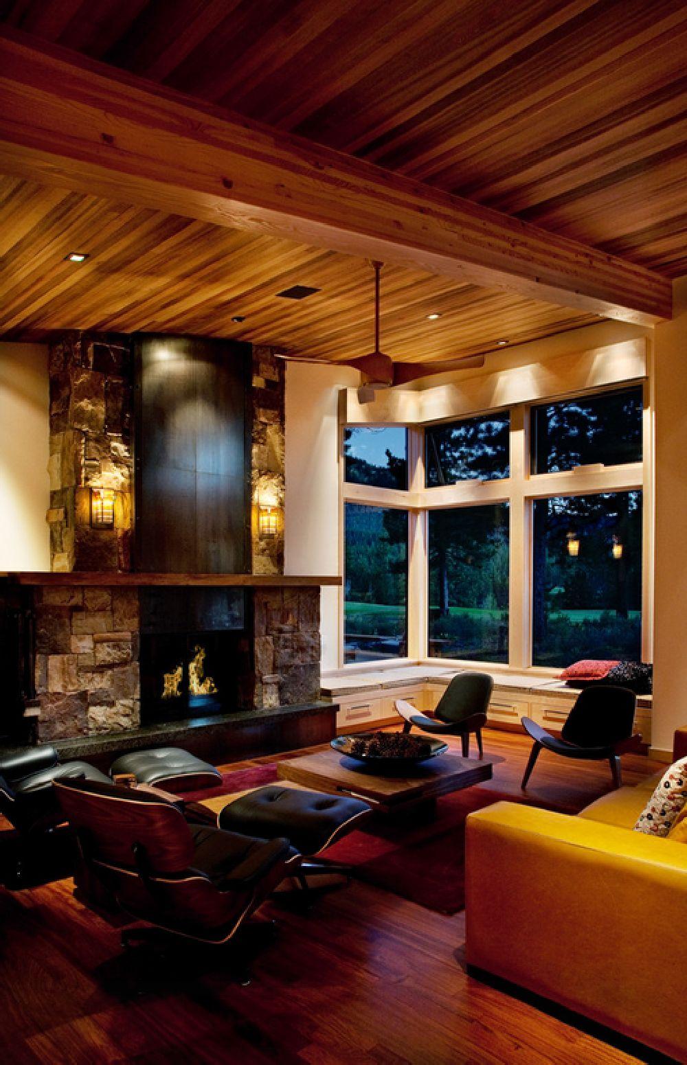 adelaparvu.com despre casa in stil modern montan, designer Annie MacFadyen, arhitectura Ryan Grup Architects, Foto Ethan Rohloff (9)