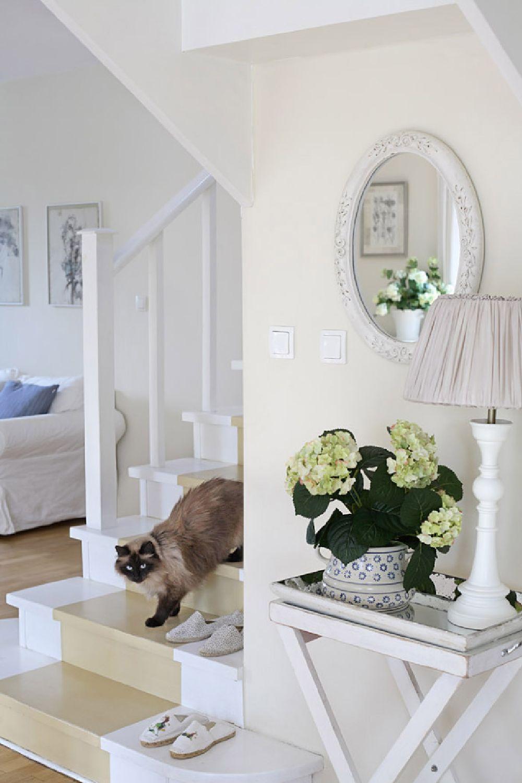 adelaparvu.com despre casa romantica in alb si albastru, Design interior Olga Anna Chmielewska, Foto Aneta Tryczynska (10)