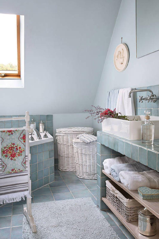 adelaparvu.com despre casa romantica in alb si albastru, Design interior Olga Anna Chmielewska, Foto Aneta Tryczynska (19)