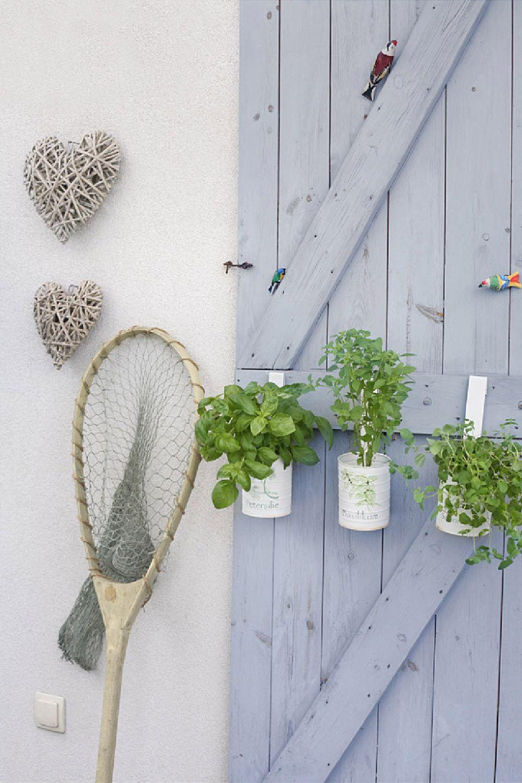 adelaparvu.com despre casa romantica in alb si albastru, Design interior Olga Anna Chmielewska, Foto Aneta Tryczynska (3)