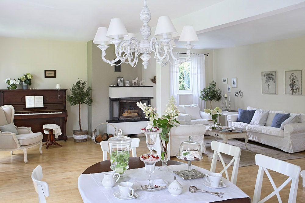 adelaparvu.com despre casa romantica in alb si albastru, Design interior Olga Anna Chmielewska, Foto Aneta Tryczynska (5)