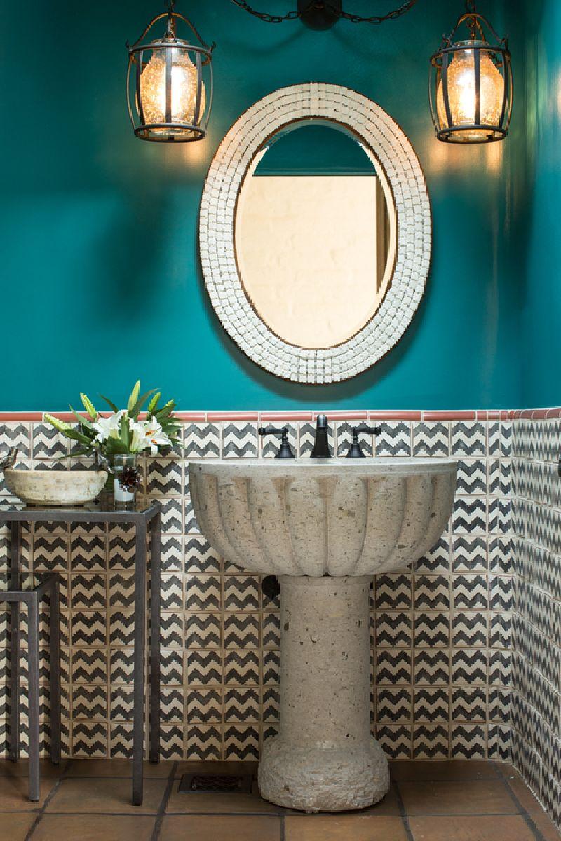 adelaparvu.com despre casa rustica cu tuse marocane, design interior Chandler Prewitt Design, Foto Bill Stengel (11)