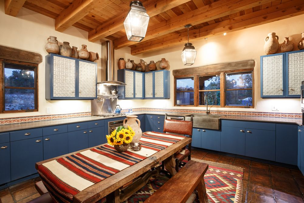 adelaparvu.com despre casa rustica cu tuse marocane, design interior Chandler Prewitt Design, Foto Bill Stengel (7)