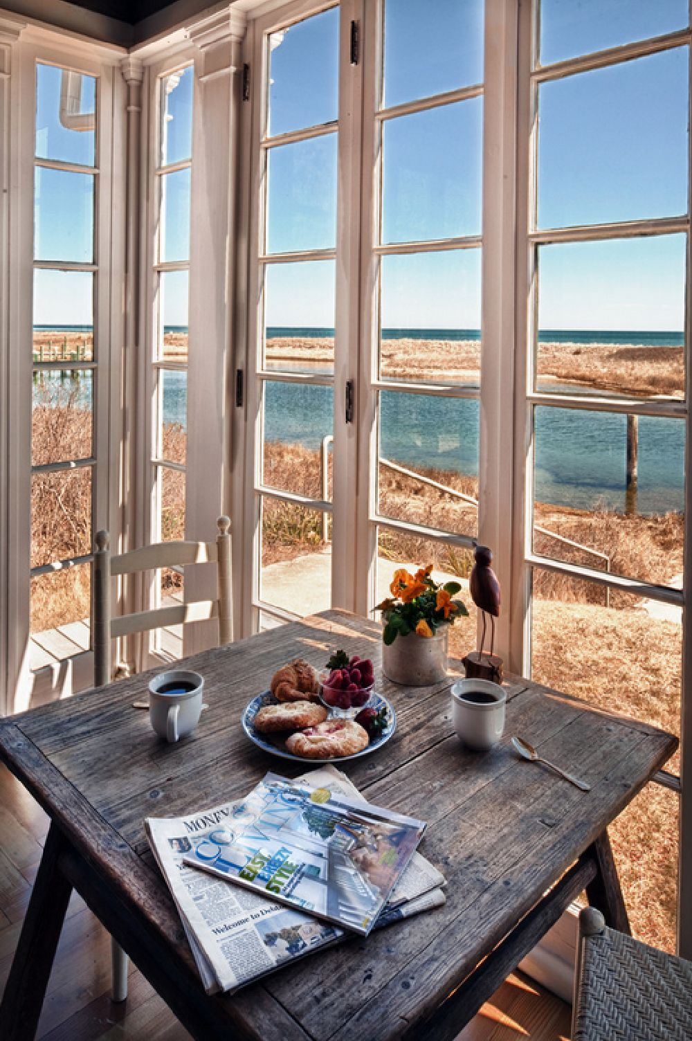 adelaparvu.com despre casa rustica pe malul marii Marta's Vineyard, Foto Bob Gothard  (9)