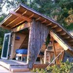 adelaparvu.com despre casuta de vacanta cu acoperis verde, design Alex Wyndham (1)