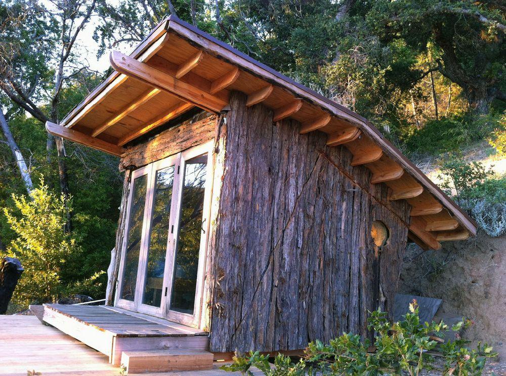 adelaparvu.com despre casuta de vacanta cu acoperis verde, design Alex Wyndham (2)