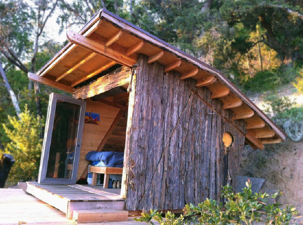 adelaparvu.com despre casuta de vacanta cu acoperis verde, design Alex Wyndham (8)