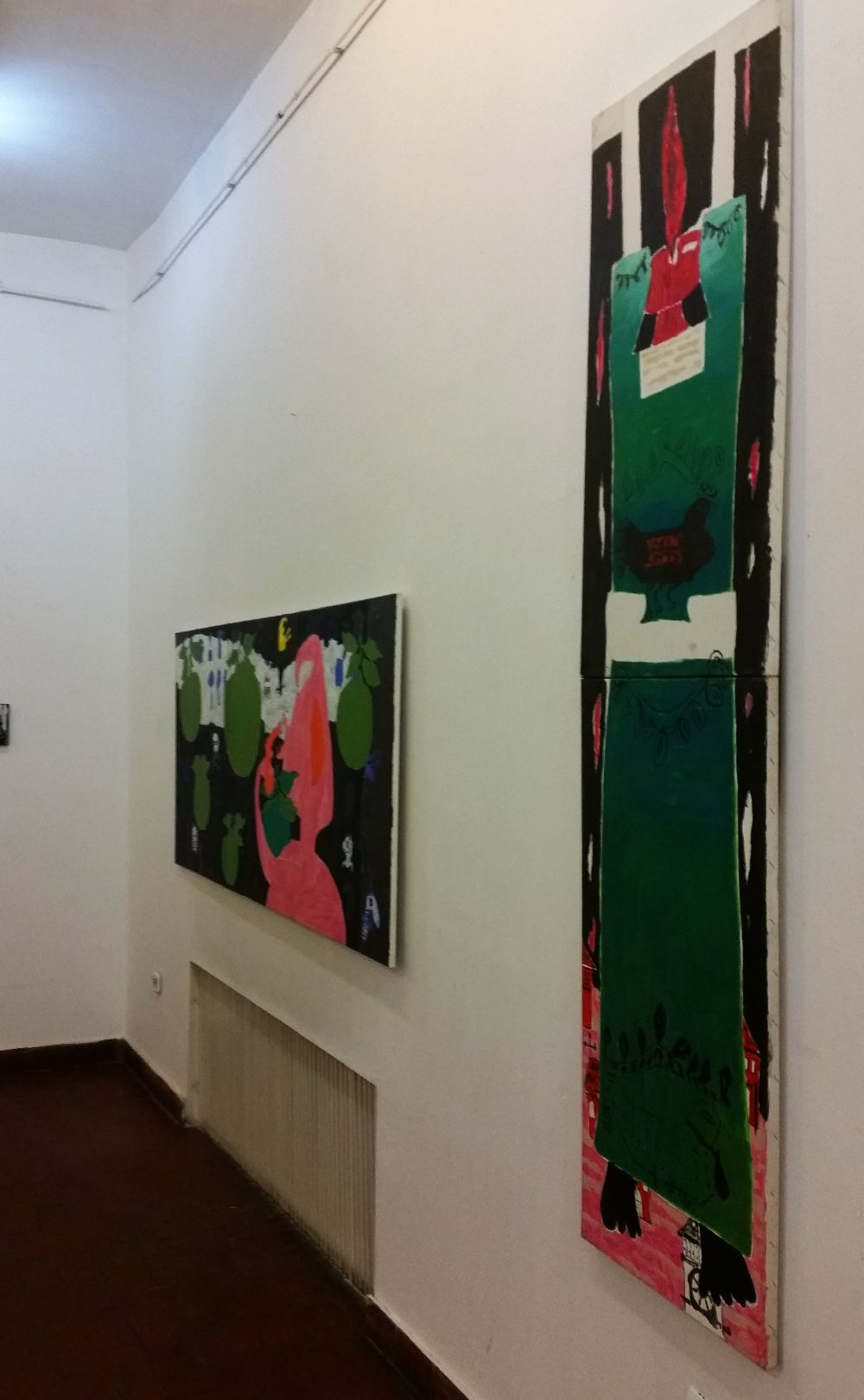 adelaparvu.com despre expozitie Orasul Aniei, artist Cristi Gaspar (10)