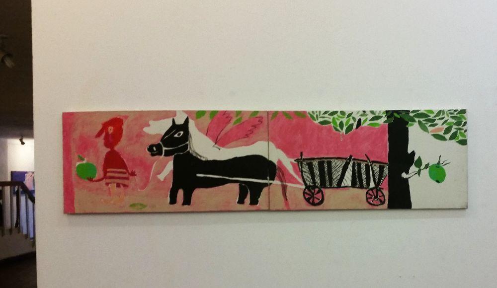 adelaparvu.com despre expozitie Orasul Aniei, artist Cristi Gaspar (12)