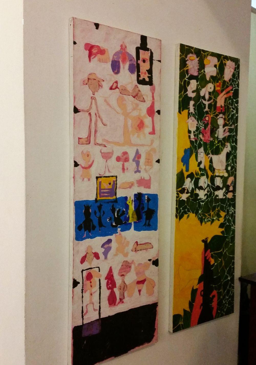 adelaparvu.com despre expozitie Orasul Aniei, artist Cristi Gaspar (13)