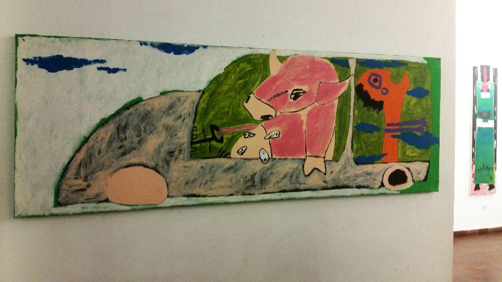 adelaparvu.com despre expozitie Orasul Aniei, artist Cristi Gaspar (14)
