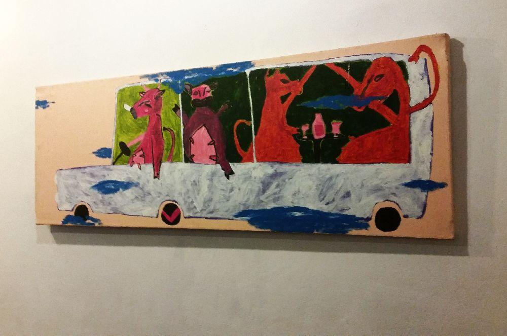 adelaparvu.com despre expozitie Orasul Aniei, artist Cristi Gaspar (15)