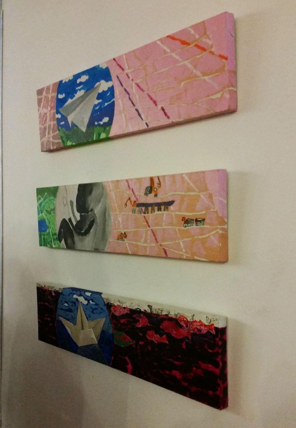 adelaparvu.com despre expozitie Orasul Aniei, artist Cristi Gaspar (17)